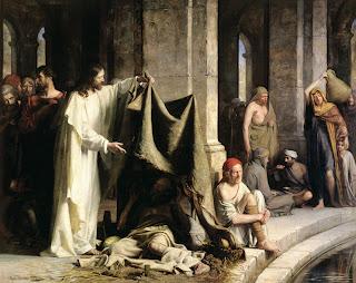 Jesus curava aos sábados