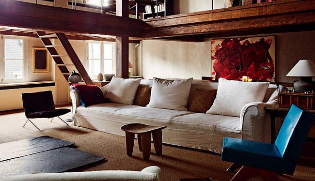 Rustik chateaux for Casa minimalista rustica