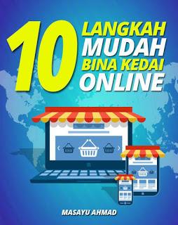 Ebook 10 LANGKAH MUDAH BINA KEDAI ONLINE