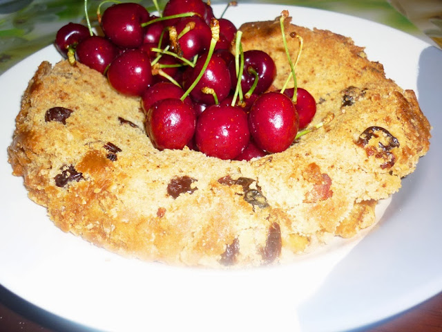 Butterscotch Cherry Cake