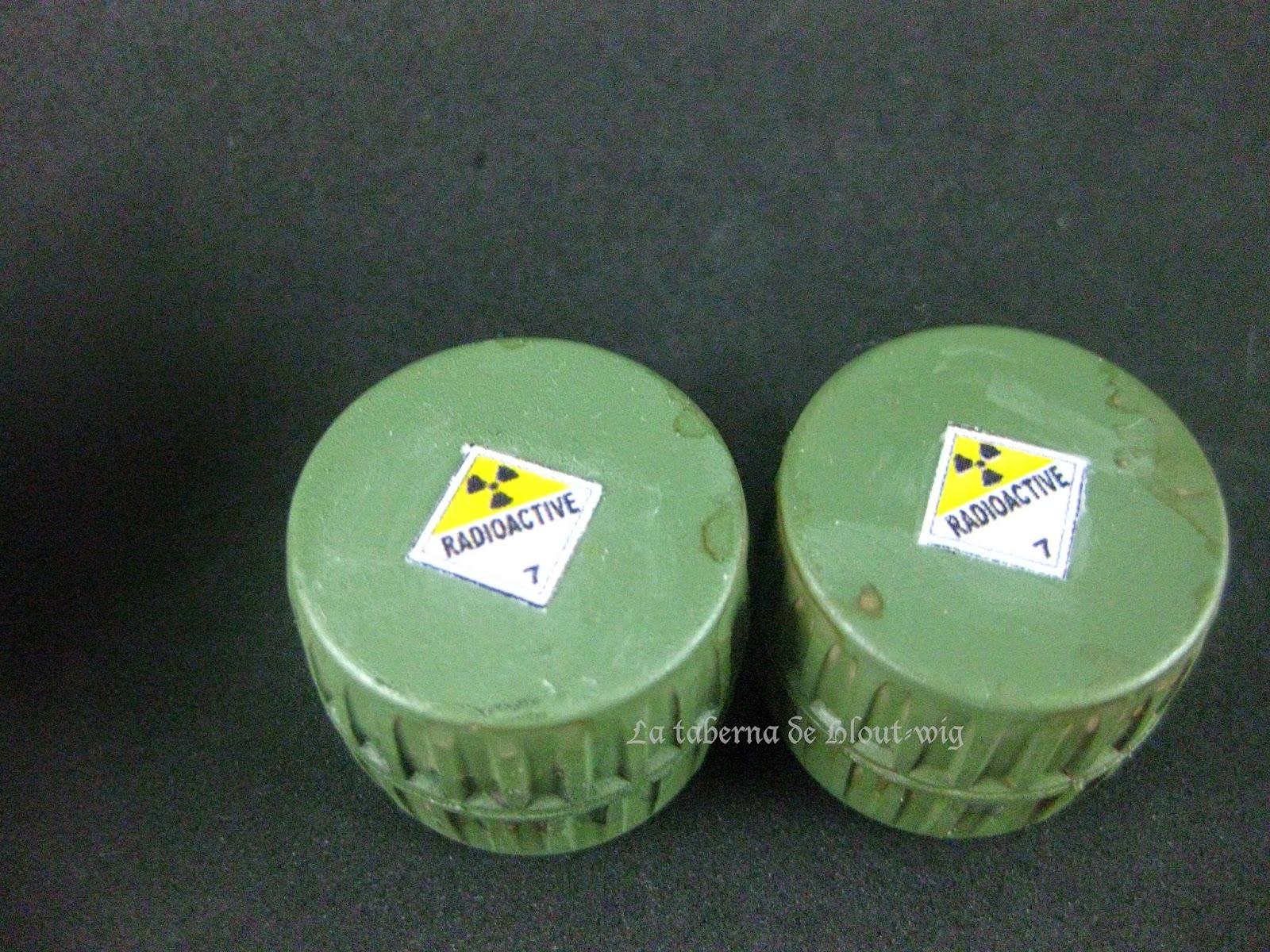 Contenedores radiactivos