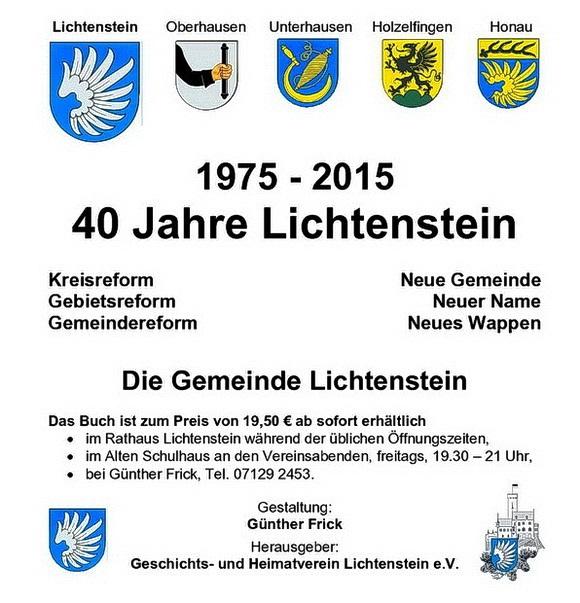 40 Jahre Lichtenstein