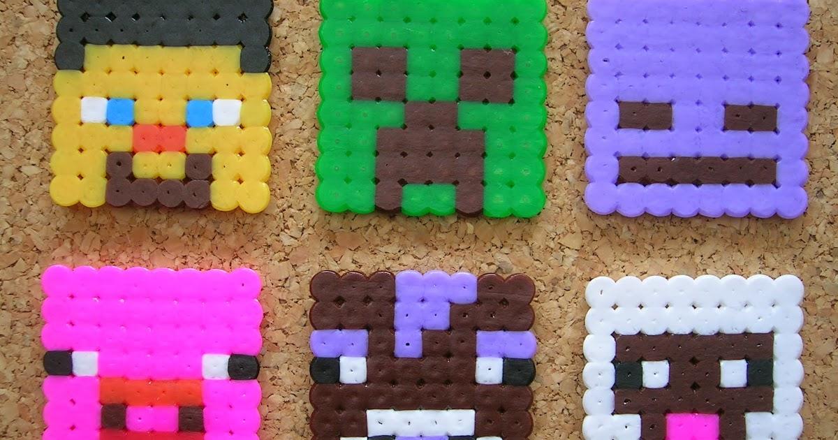 Cachivaches Artesanos: Personajes de Minecraft