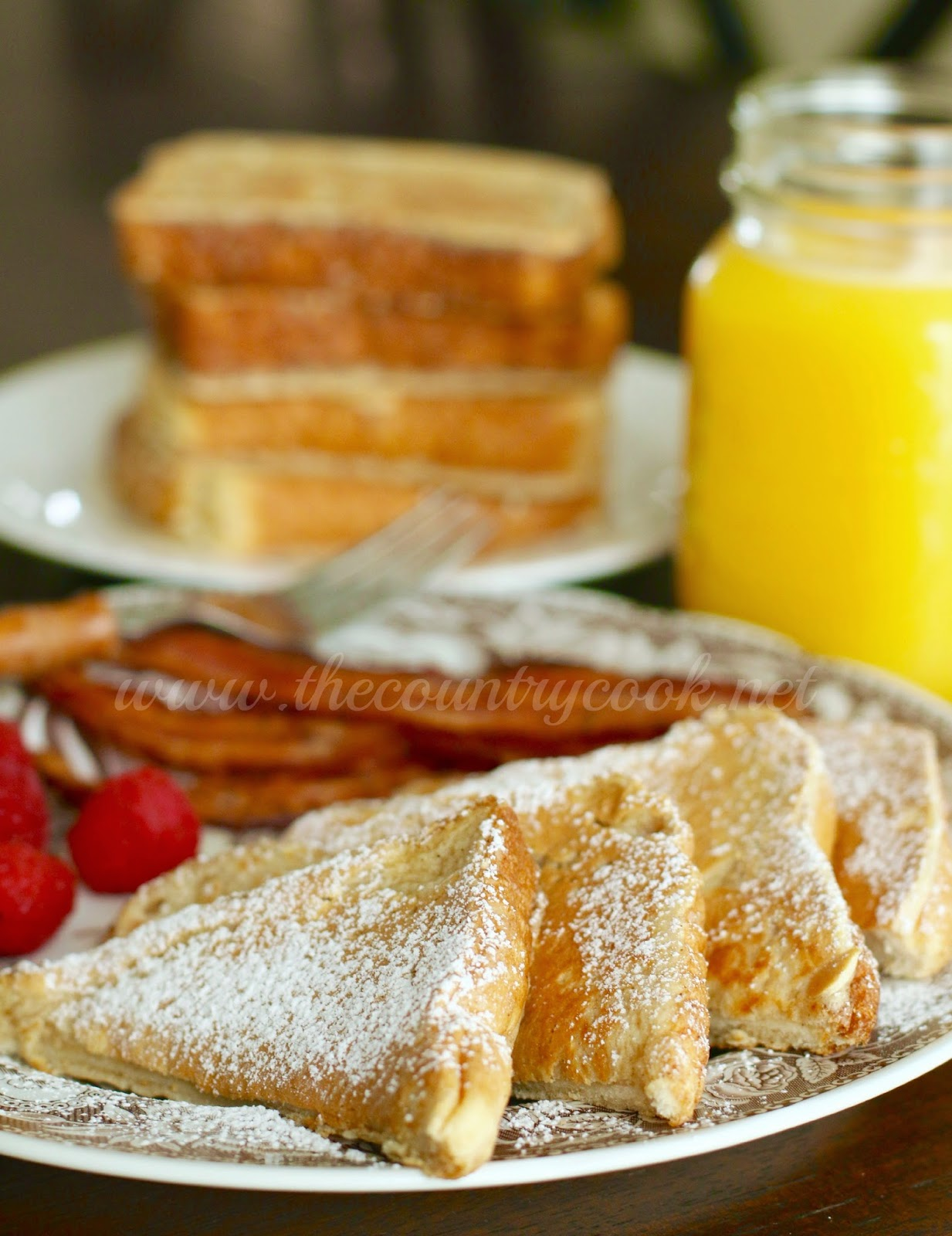 Fluffy French Toast - The Country Cook