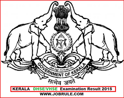 Kerala Board DHSE/VHSE +2 Examination Result 2015 | Kerala Vocational Higher Secondary Examination Result 2015