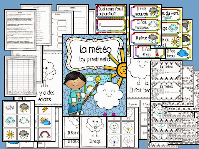 primary French activities
