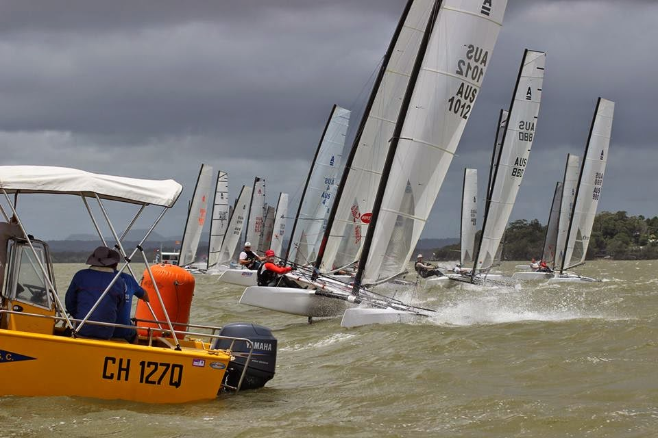 A-Class Australian Nats 2015: Collet leads after 9 Races ...