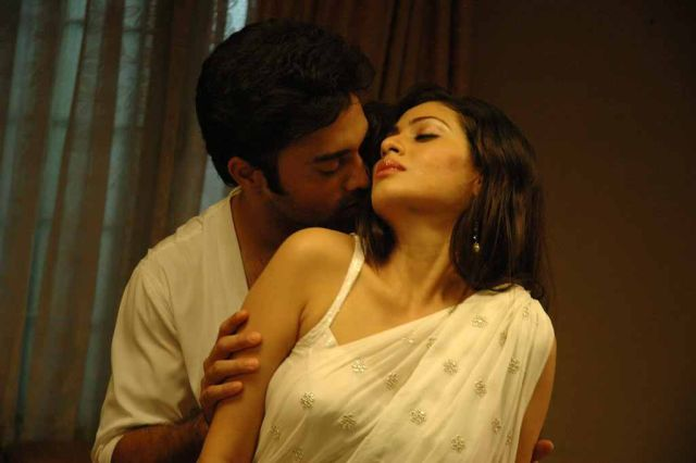 Mythili Movie Hot Romantic Masala Stills Photos