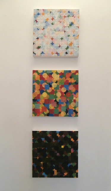 kate mackay, factory 49, stephen mclaughlan gallery, painting, geometric abstraction, non objective