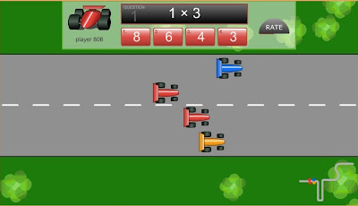 Activities for Kids Grand Prix Multiplication