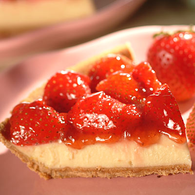 Strawberry Cheesecake Pie - YUM YUM!