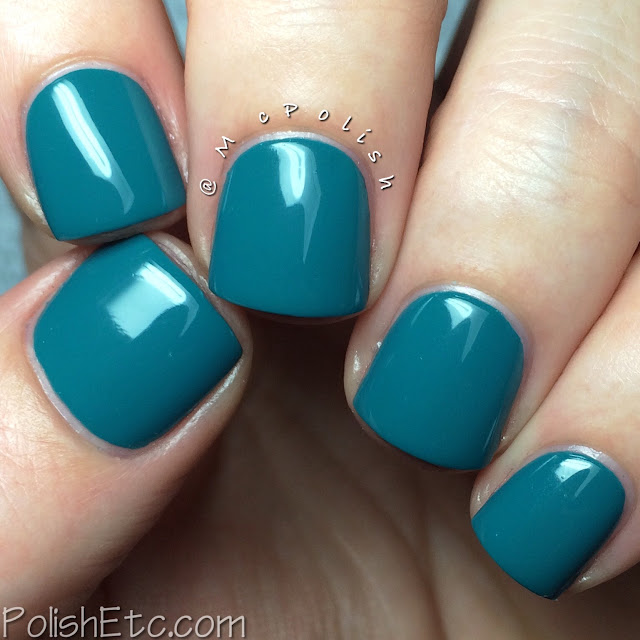 KBShimmer Fall 2015 Collection - Teal It To My Heart - McPolish