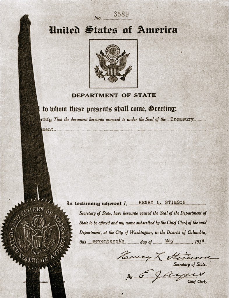 Bahai historical facts 2014 1929 certification of declaration of trust of the national spiritual assembly of the bahais of the united states and canada xflitez Images