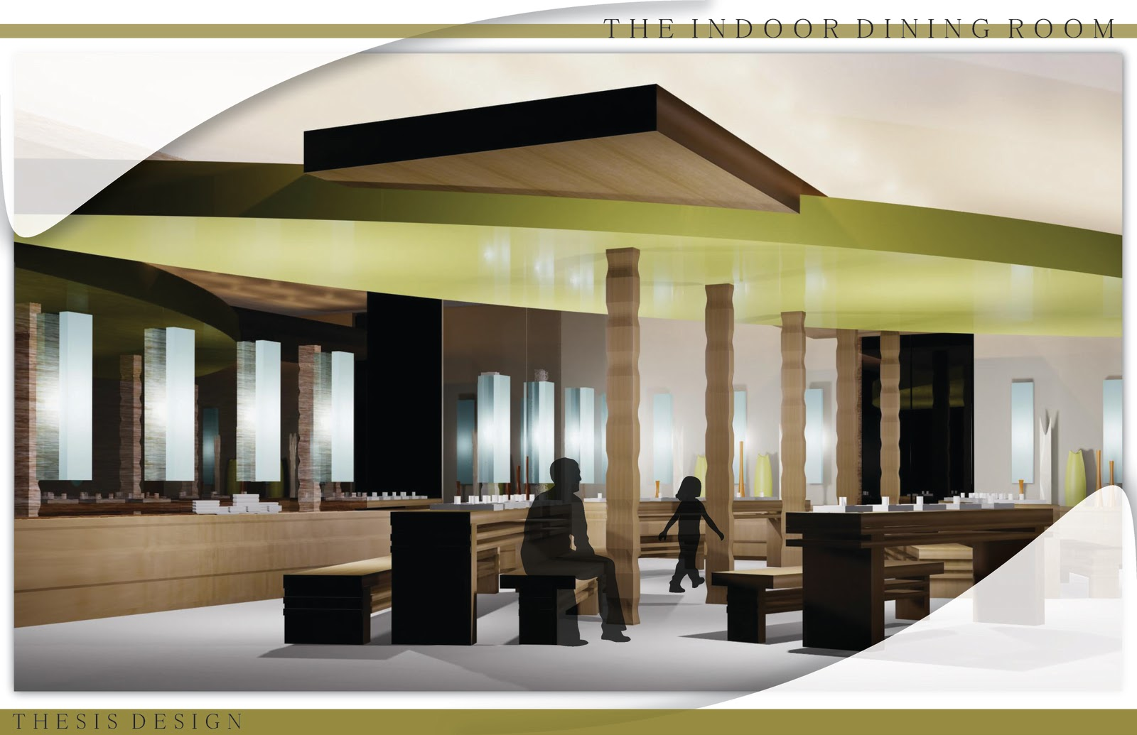 thesis interior design An approach to integrate lighting concepts into interior design studios: a constructivist educational framework a thesis submitted to the department of.
