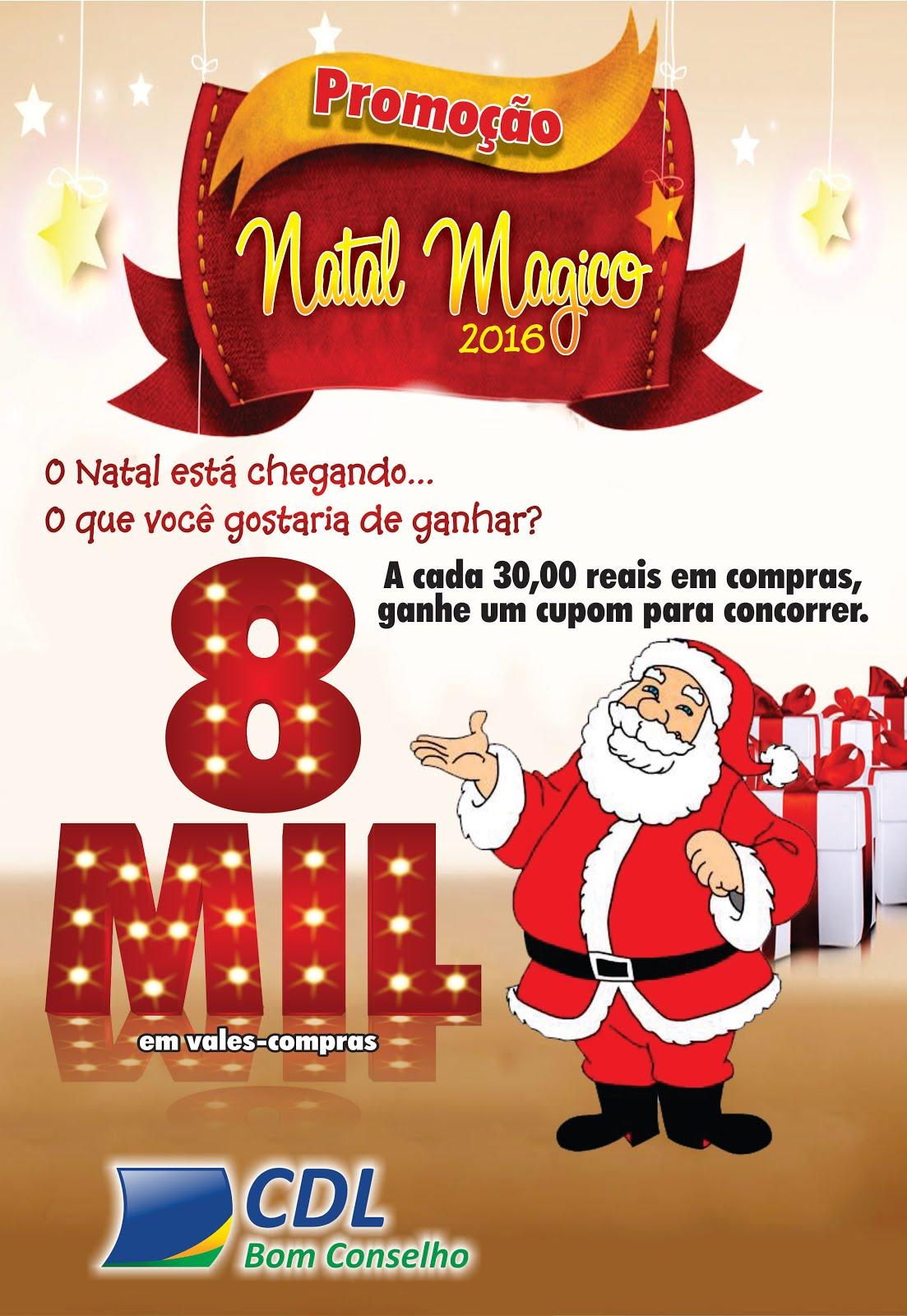 PROMOÇÃO NATAL MÁGICO DE BOM CONSELHO