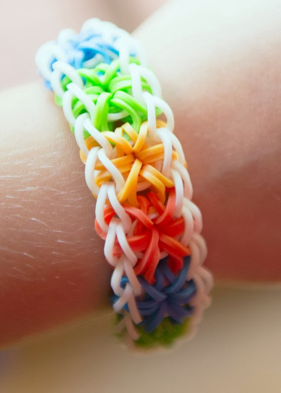 Awesome images about friendship bracelets - Rainbow Loom Patterns Starburst Rainbow Loom Pattern