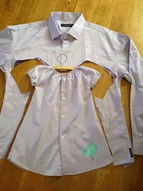 hacer ropa de niña