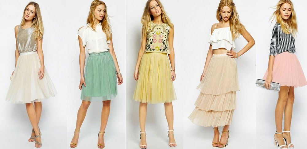 ASOS Tulle Skirts on Rock On Holly Blog