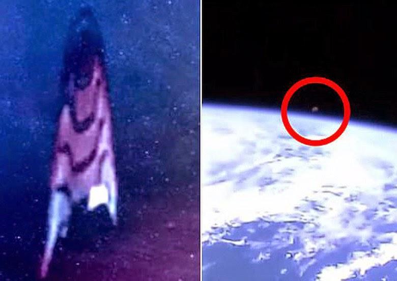 Penampakan UFO Berhasil Diabadikan Oleh NASA