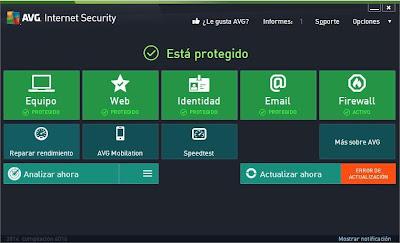 AVG Internet Security 2014 y Antivirus Pro 2014 (Gratis 12 meses)