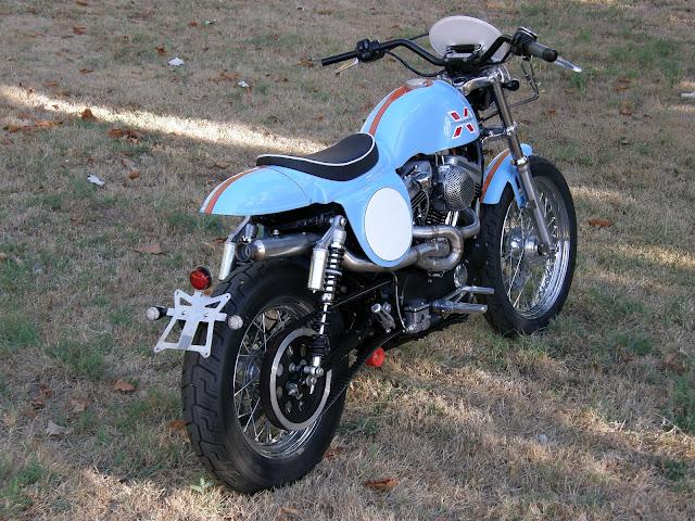 Scrambler Motorcycle | Custom Motorcycle | Harley-Davidson XL 1200 Scrambler | Custom Harley-Davidson XL 1200