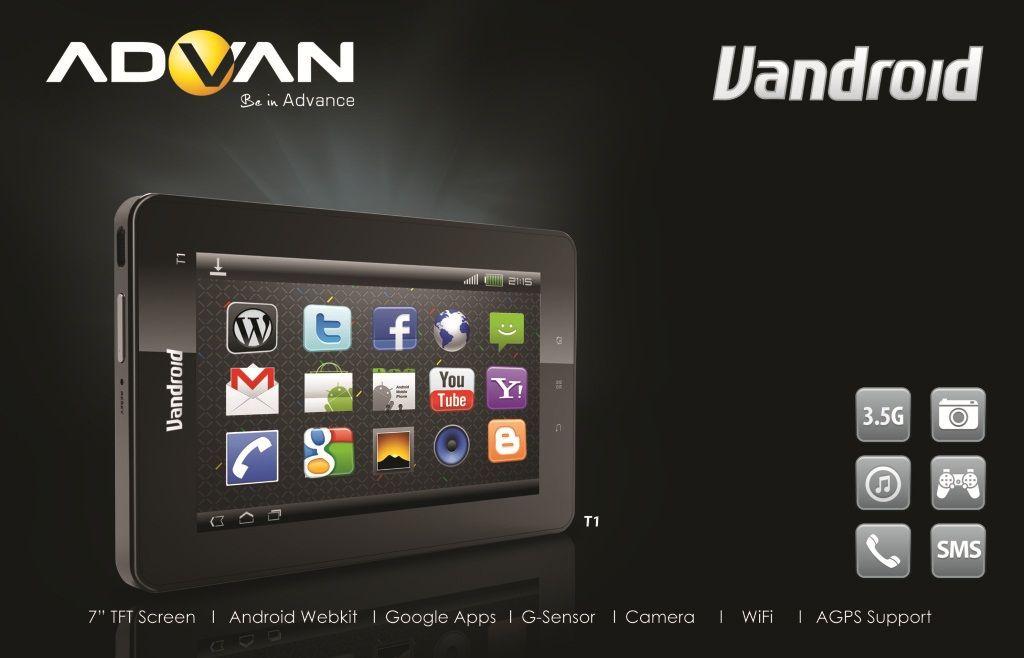 Advan Vandroid T1C Tablet Murah Kualitas Oke