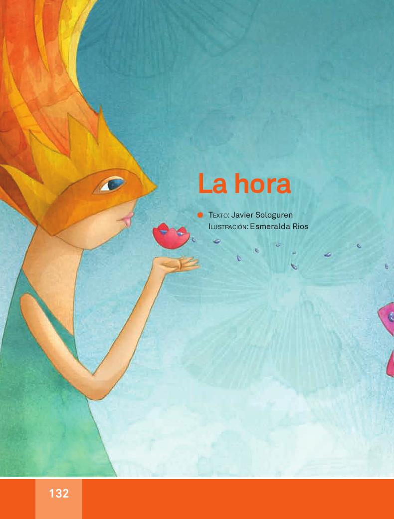 La hora - Español Lecturas 3ro 2014-2015