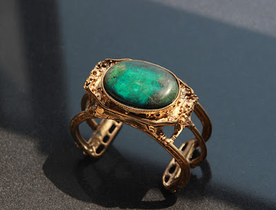 atlantis bracelet chrysocolla by alex streeter
