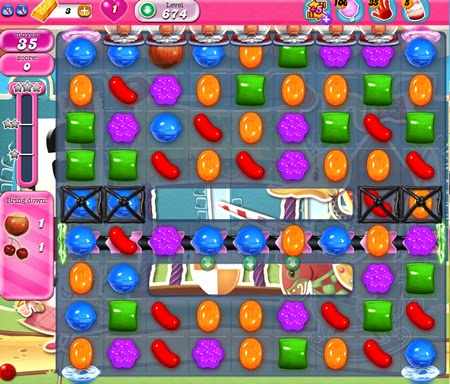 Candy Crush Saga 674