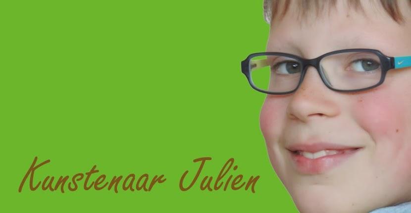Kunstenaar Julien