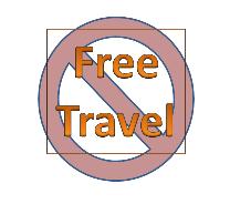 no free travel symbol