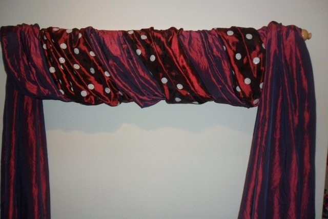 the fifth great way to hang your scarf swag curtains