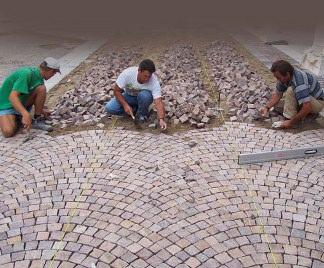 Rase una vez quiz noviembre 2012 - Posa pavimento esterno su cemento ...
