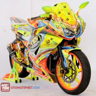 Gambar Modifikasi Motor Kawasaki Ninja 250 Terbaru