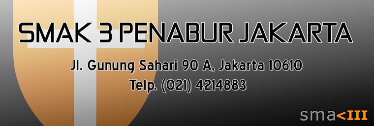 SMAK 3 BPK PENABUR Jakarta