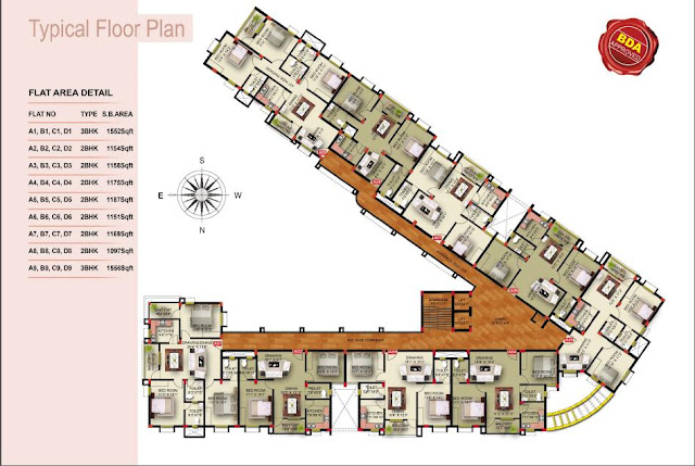 Apartment Complex Floor Plans For Sale