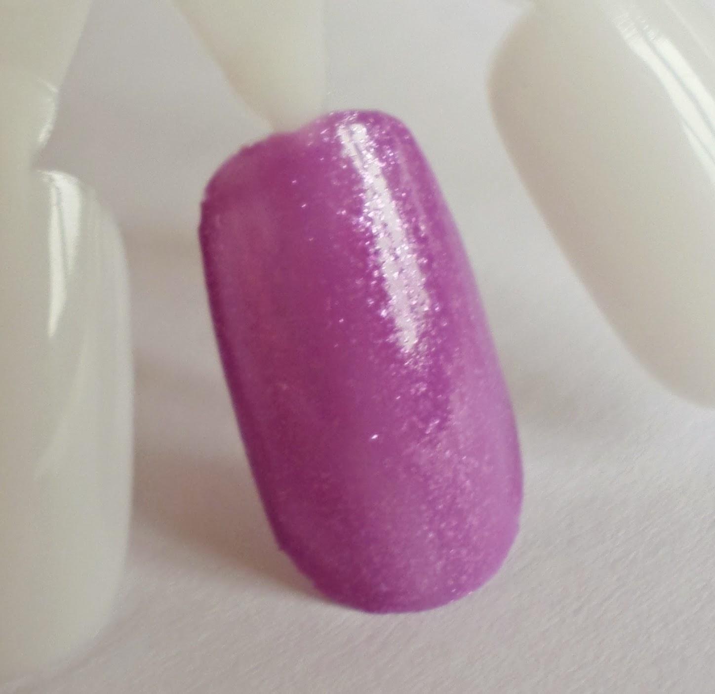 Shara Shara Fairy's Perfume Nail Polish VL01 Lilac Bora Swatch 65g rrp $4