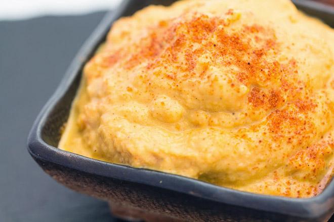 Receta de Mayonesa de Zanahoria para Veganos y Vegetarianos