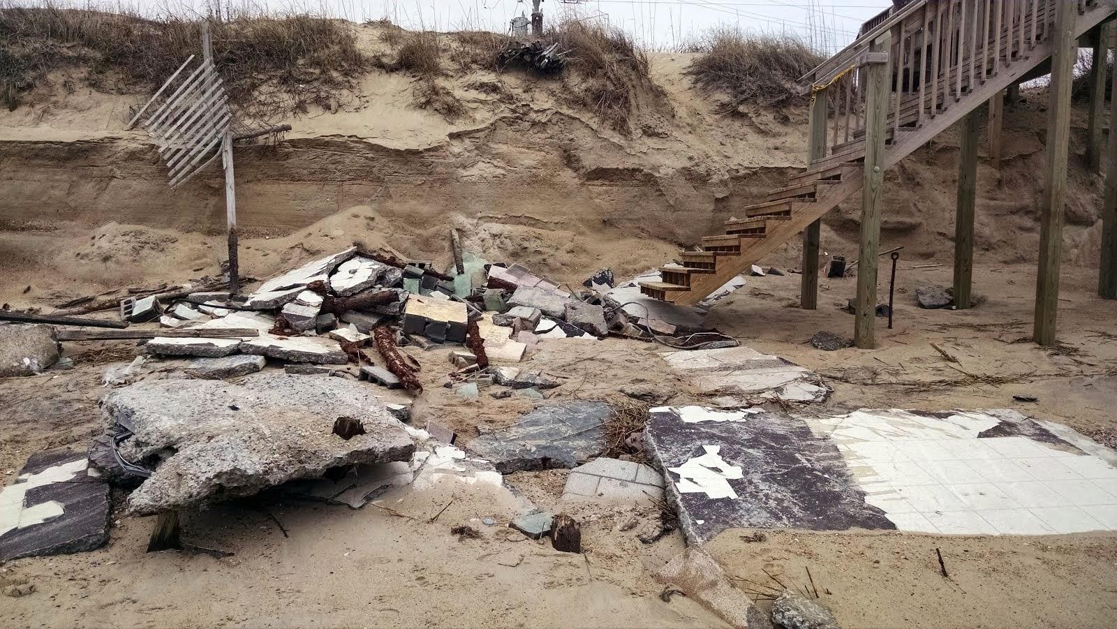 UPDATE - KITTY HAWK BEACH DEBRIS