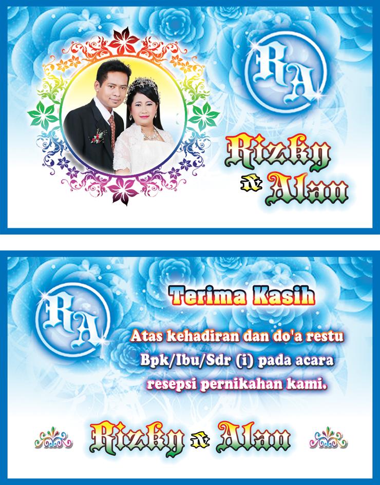 Membuat Sendiri Undangan Pernikahan Syamsudinnamakublogspot