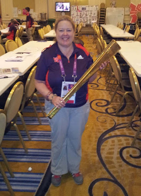 Lorne Marketing Manager, Christine Rayner, has been a volunteer at the 2012 Games