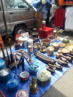 Jualan barang antik Road Walk Penang