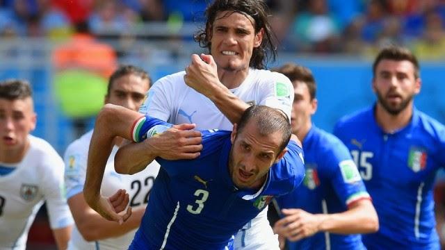 Uruguay Menang Tipis dari Italia 1-0