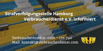 Strafverfolgungsstelle Hamburg | Verbraucherdienst e.V. informiert