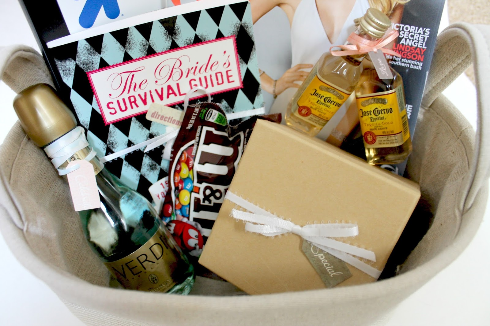 The Moy Life: Engagement Gift Basket