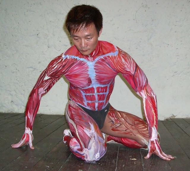 Body Painting Clases de Anatomía