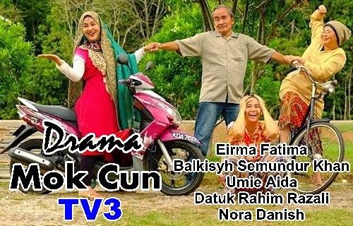 Drama Mok Cun TV3 Sekuel Ajaibnya Cinta & Spain Uoolss, sinopsis drama Mok Cun TV3, review drama Mok Cun, pelakon dan gambar drama Mok Cun TV3, drama tv bulan ramadhan 2015, rancangan program tv bulan puasa 2015