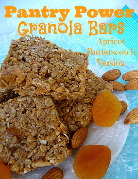 Pantry Power Granola Bars