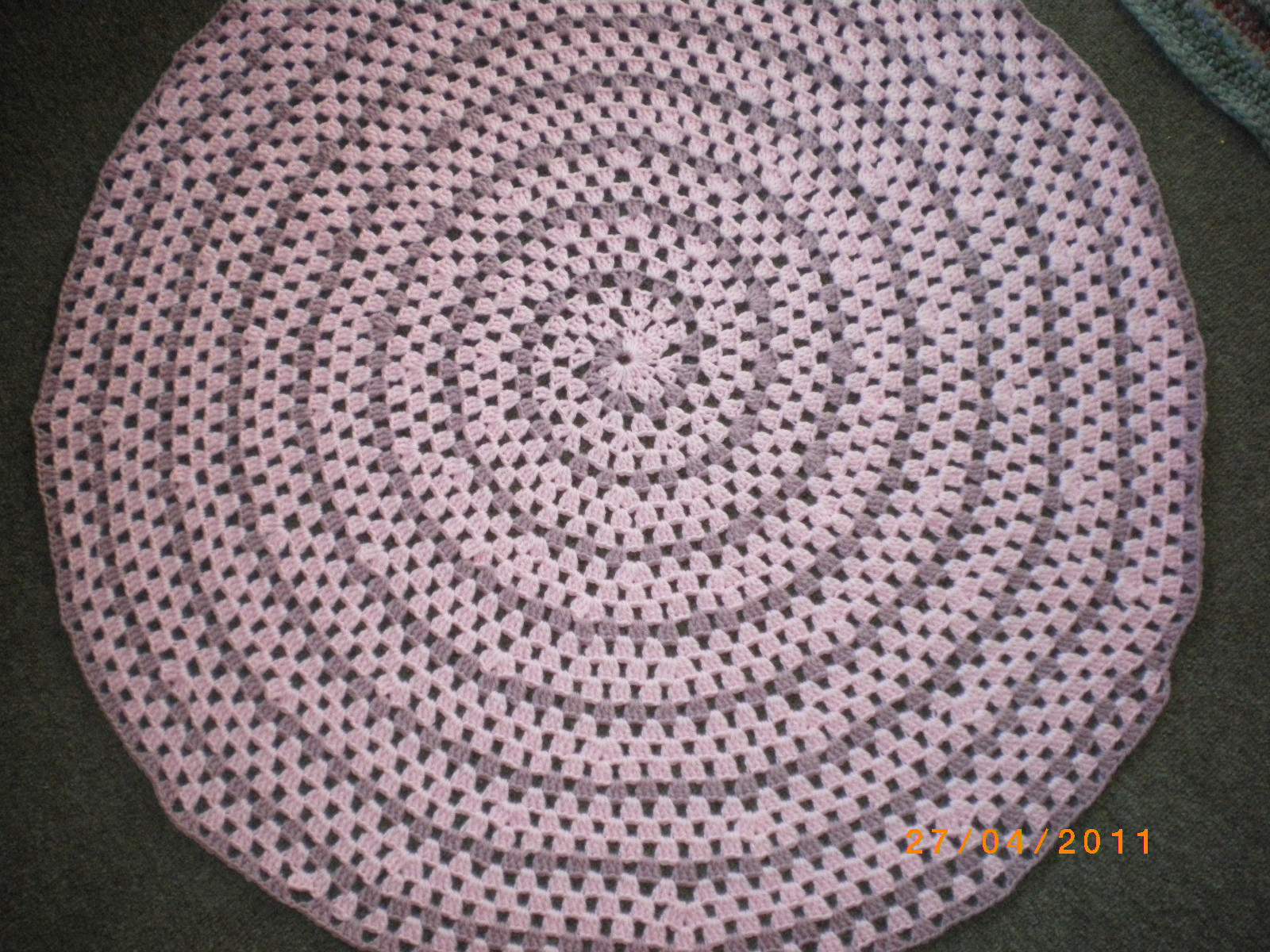 SmoothFox Crochet and Knit: Testers pictures of Fox\'s Spiral Round ...