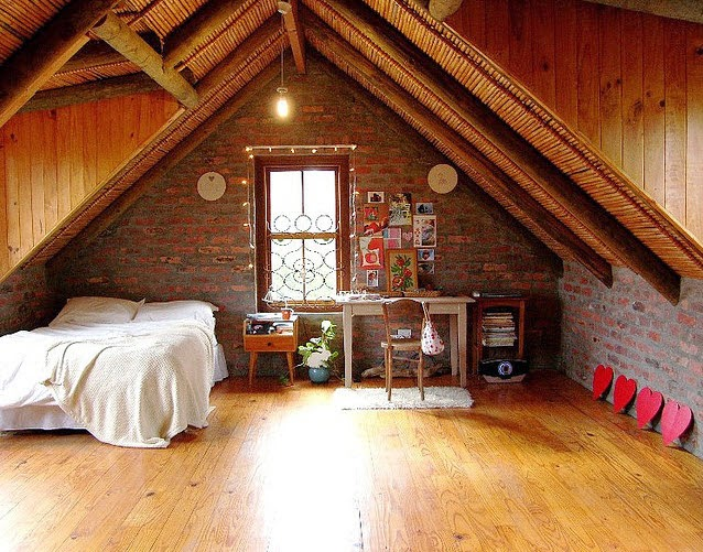 Gallart grupo el blog suelos y puertas de madera en asturias agosto 2014 - Attic bedroom design ideas with wooden flooring ...